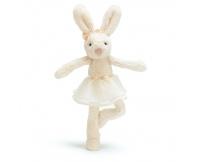 JELLYCAT Kremowy króliczek baletnica - Tutu Lulu Bunny