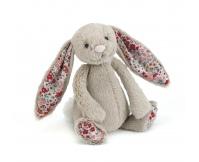 JELLYCAT Beżowy króliczek Blossom Bashful Bunny (średni 31 cm)