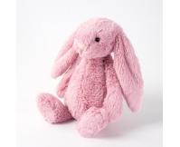 JELLYCAT Różowy króliczek Bashful Tulip Pink Bunny (średni 31 cm)