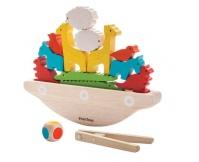 PLAN TOYS Balansująca łódka