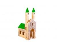 VARIS TOYS Drewniane klocki Architekt 87 elementów