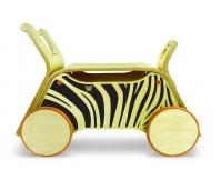 WEEROL 3w1 Drewniany wózek, jeździk i taczka - Weebra