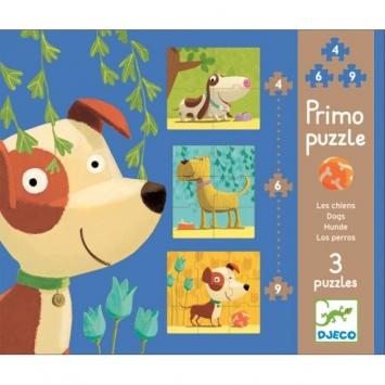 DJECO Pierwsze puzzle - Pieski