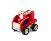 WONDERWORLD Drewniana Mini Straż Pożarna
