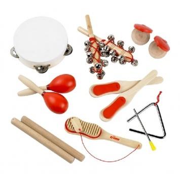 TIDLO Drewniane instrumenty muzyczne