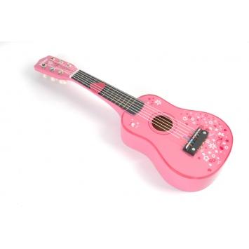 TIDLO Gitara - różowa
