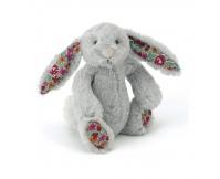 JELLYCAT Szary króliczek Blossom Bunny (mały - 18 cm)