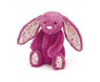 JELLYCAT Malinowy króliczek Blossom Rose Bunny (średni 31 cm)