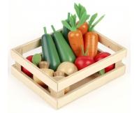 TIDLO Drewniany zestaw - Warzywa