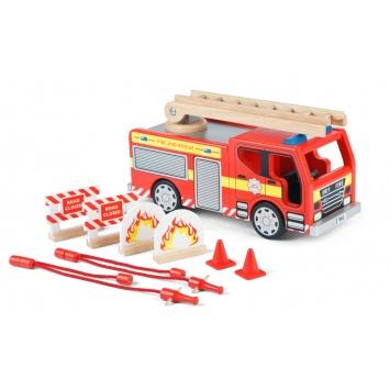 TIDLO Wóz strażacki z akcesoriami