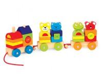 PINTOY Pociąg z czterema przyjaciółmi