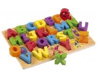 TIDLO Alfabet ABC - puzzle drewniane