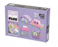 PLUS-PLUS Klocki mini pastel 3w1 - zestaw 220 szt.