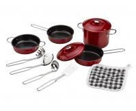 TIDLO Zestaw nieprzywierających naczyń i akcesoriów kuchennych