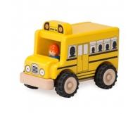 WONDERWORLD Drewniany Mini Autobus