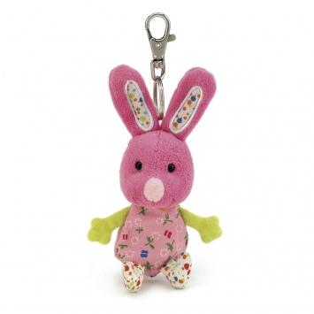"""JELLYCAT Breloczek do kluczy – króliczek """"Rosie Bunny"""""""