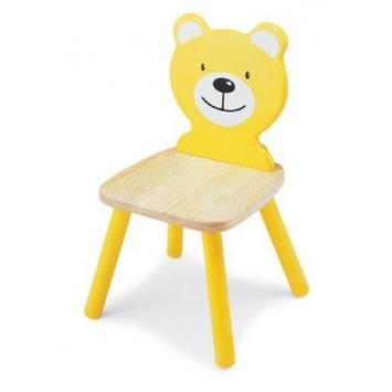 PINTOY  Krzesełko dziecięce Miś