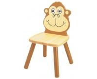 PINTOY Krzesełko dziecięce Szympans
