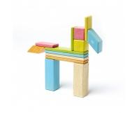 TEGU Drewniane klocki magnetyczne zestaw 14 elementów TINTS