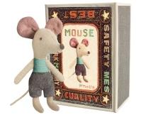 MAILEG Myszka w pudełeczku - mały braciszek