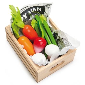 LE TOY VAN Warzywa w skrzynce