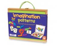 MINDWARE Magnesy z Wyobraźnią - Drewniana Teczka Magnetyczna
