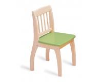 PINTOY Drewniane krzesełko Junior - zielone