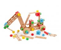TIDLO Drewniany zestaw konstrukcyjny