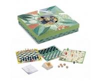 Djeco Zestaw klasycznych gier planszowych