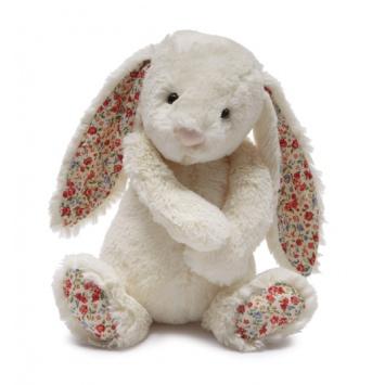JELLYCAT Kremowy króliczek Blossom Bashful Bunny (średni 31cm)