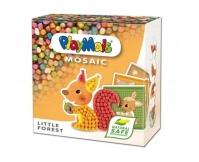 PLAYMAIS Klocki kukurydziane Mozaika - Małe zwierzęta leśne